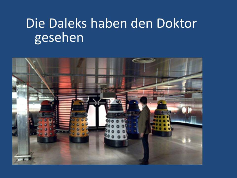 Die Daleks haben den Doktor gesehen