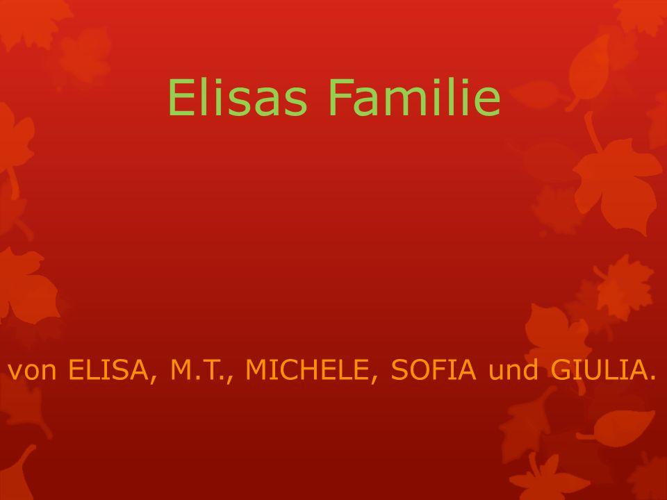 ELISA Das ist Elisa.Sie ist 14 Jahre alt. Sie hat am 17.