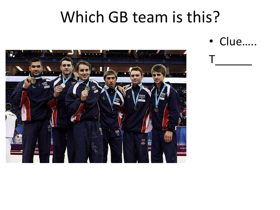 Which GB team is this Clue….. T______