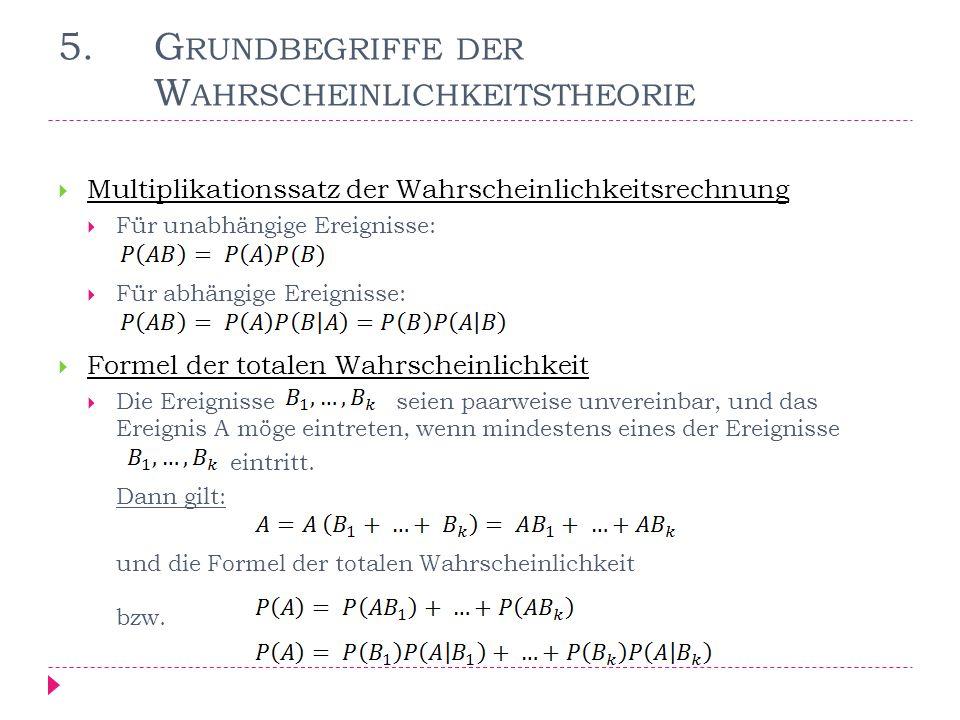 6.D AS M ODELL DES S PIELS – EINE M ARKOWSCHE K ETTE Sei: P(I) = 0,6 P(D) = 0,4 (d.h.