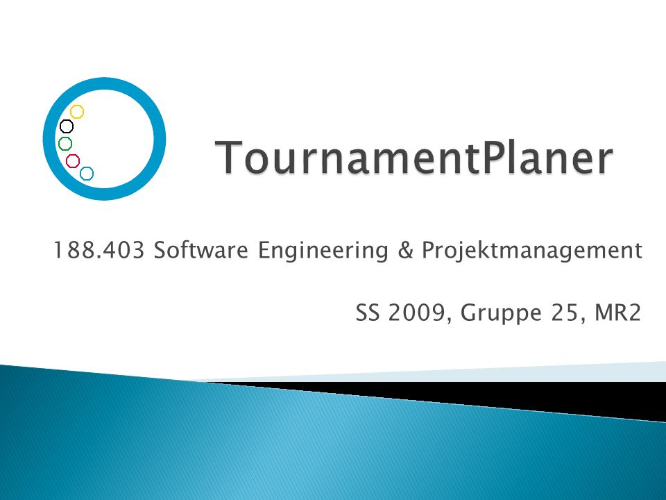 Software Engineering & Projektmanagement SS 2009, Gruppe 25, MR2