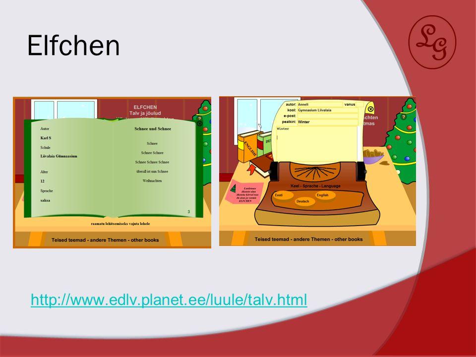 Quiz Weihnachten http://www.edlv.planet.ee/Weihnachten2011/ http://www.edlv.planet.ee/Weihnachten2011/ Ostern http://www.edlv.planet.ee/01/ostern/ http://www.edlv.planet.ee/01/ostern/ Estland http://edlv.planet.ee/estland/ http://edlv.planet.ee/estland/ Fußball http://edlv.planet.ee/FB/ http://edlv.planet.ee/FB/