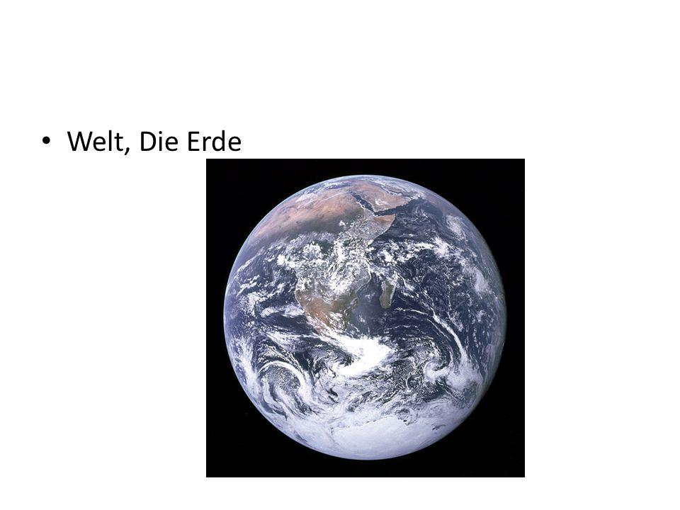 Welt, Die Erde