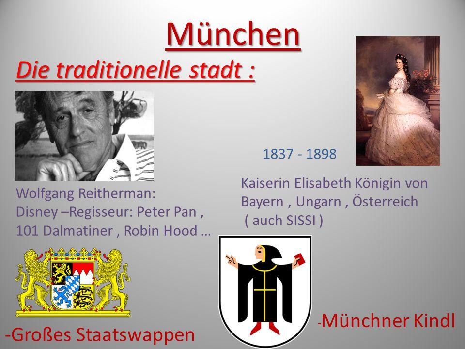 München Der Tourismus : Der Tourismus : Die Allianz Arena ( Fußball Arena ) Die Frauenkirche, ( evangelisch-lutherische) Das Rathaus am Marienplatz