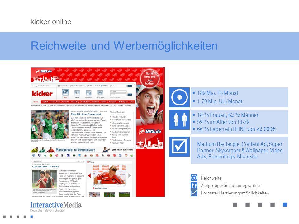 Das Fußball Spitzentrio.Die Nr. 1 in Deutschland.