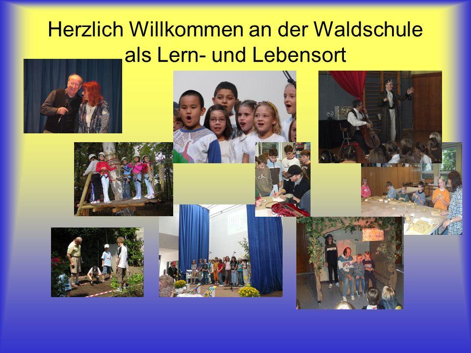 Herzlich Willkommen an der Waldschule als Lern- und Lebensort