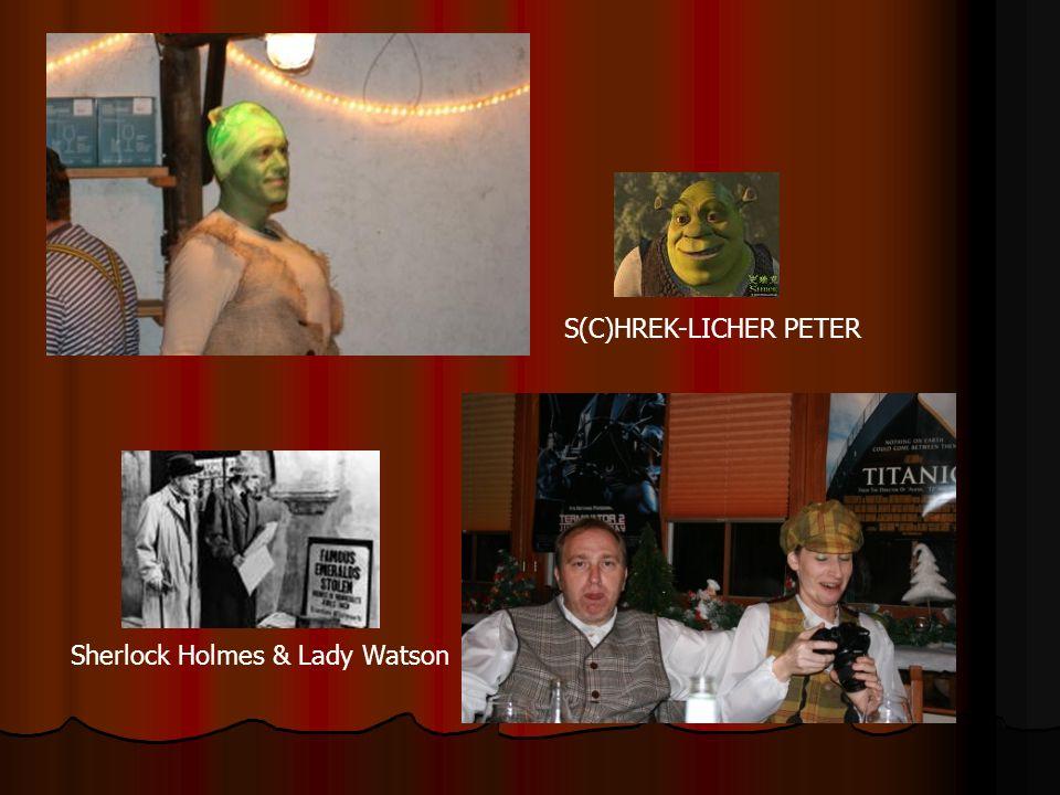 S(C)HREK-LICHER PETER Sherlock Holmes & Lady Watson