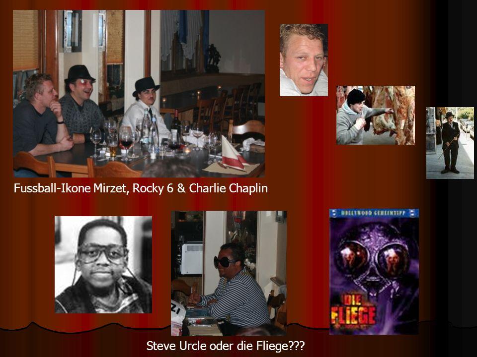 Fussball-Ikone Mirzet, Rocky 6 & Charlie Chaplin Steve Urcle oder die Fliege