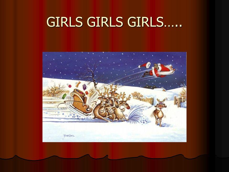 GIRLS GIRLS GIRLS…..