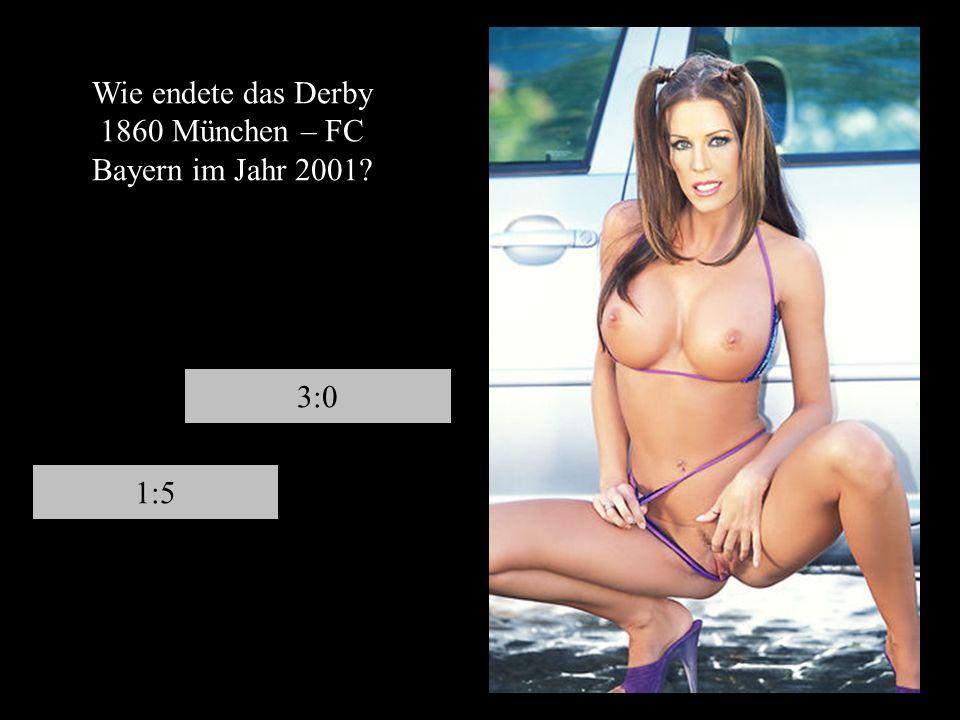 Wer wird wohl nie mehr Deutscher Meister? 1860 MünchenFC St. Pauli