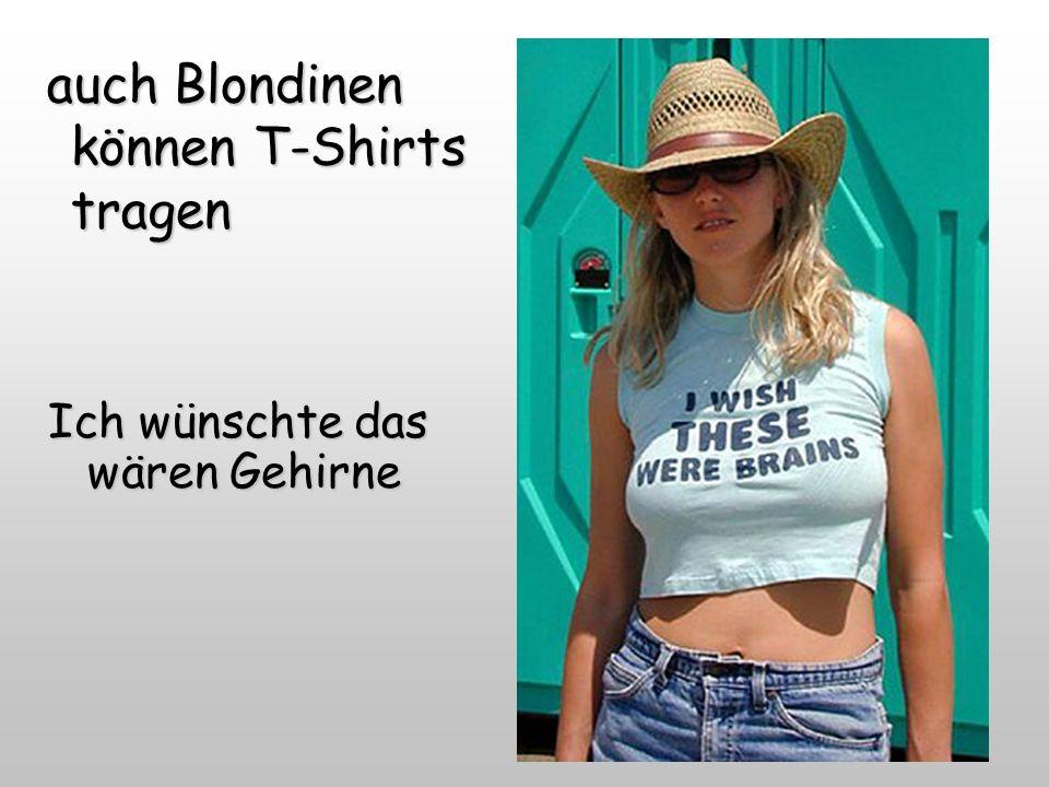 Schicke Shirts gibts aber auch für Frauen...