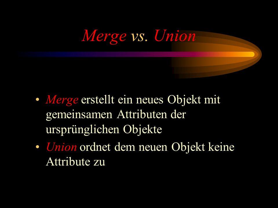 Merge vs.