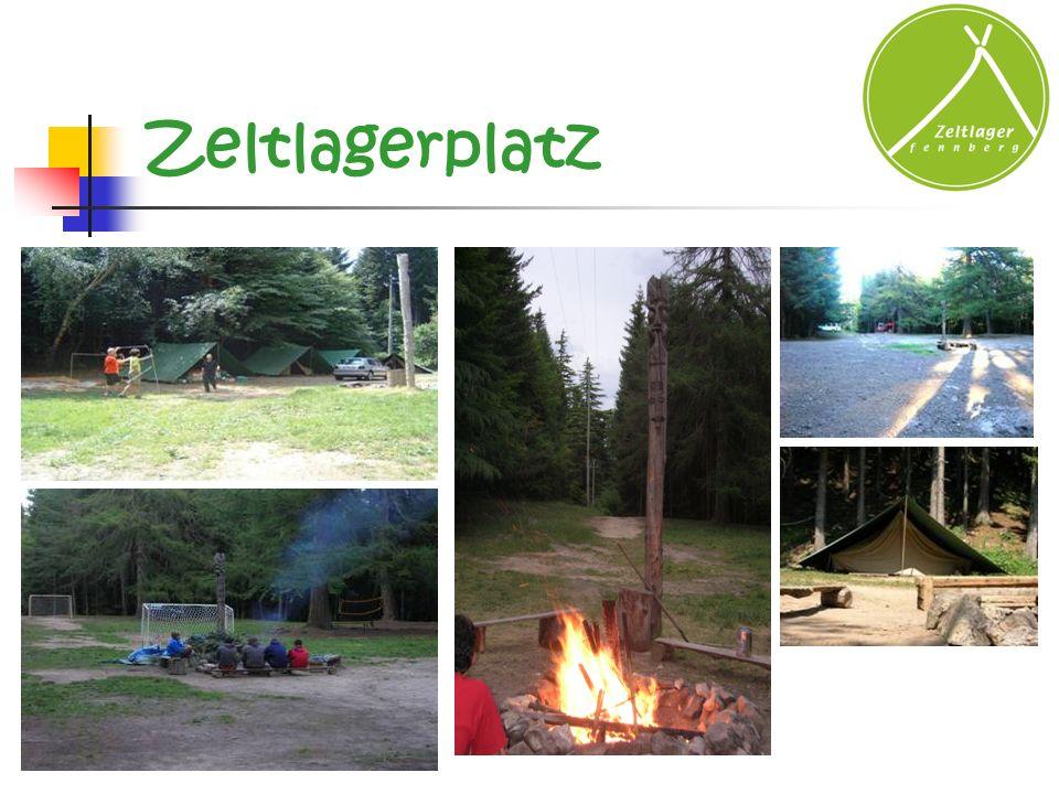Zeltlagerplatz