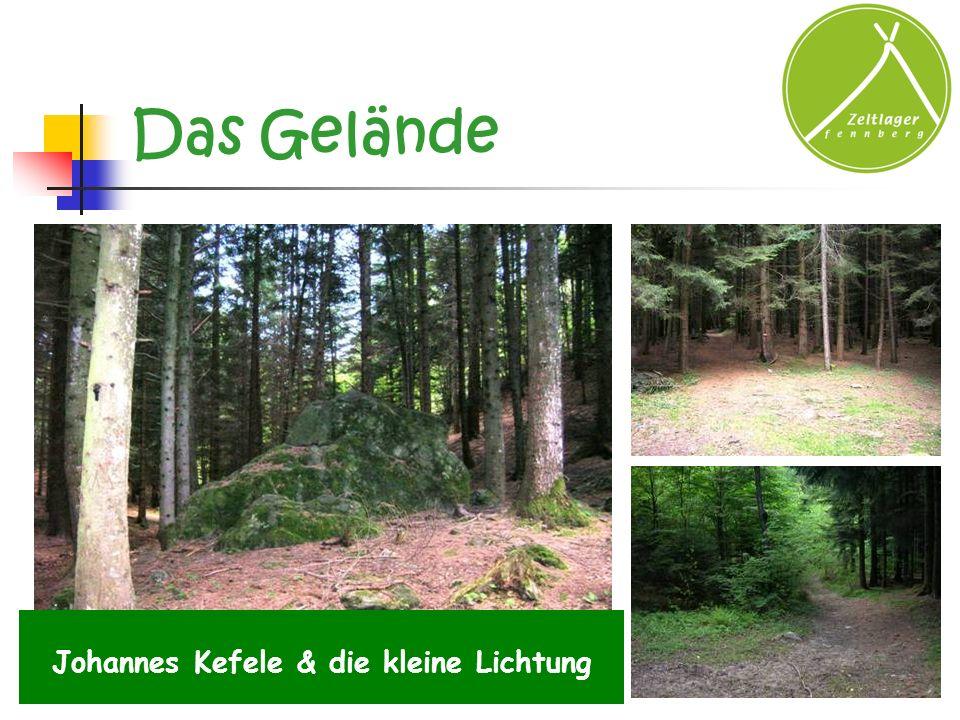 Das Gelände Johannes Kefele & die kleine Lichtung