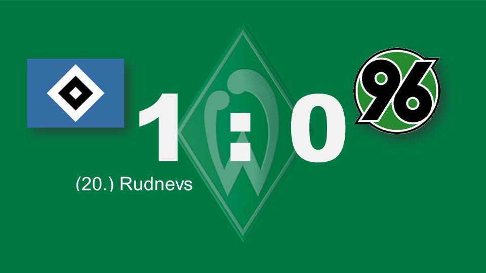 Bochum – KSC 1 : 0 (20.) Rudnevs (66.) Lewandowski (26. / ET) Delpierre (77.) Schürrle (71.) Tosic (82.) Salihovic (90. + 1.) Williams (77.) Schürrle