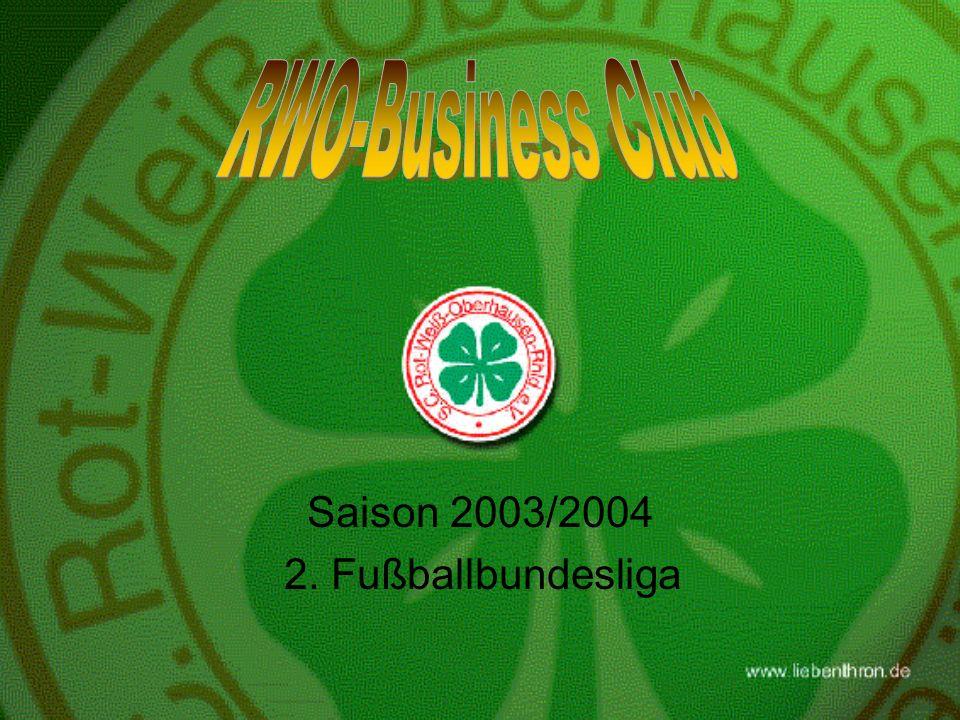Saison 2003/2004 2. Fußballbundesliga