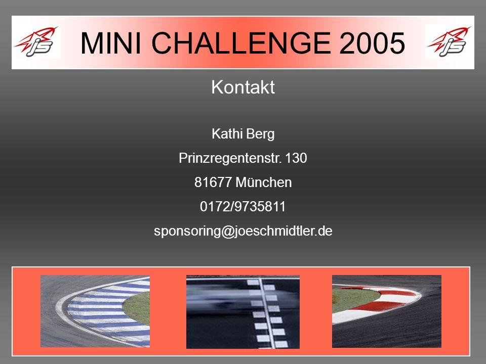 Kontakt Kathi Berg Prinzregentenstr. 130 81677 München 0172/9735811 sponsoring@joeschmidtler.de