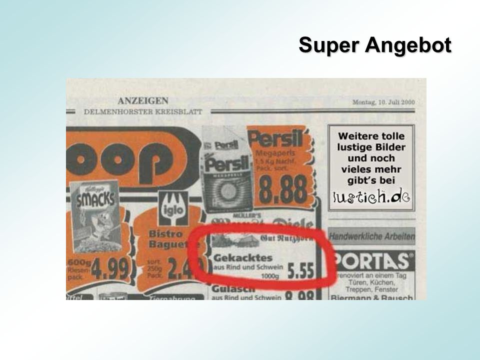 Super Angebot