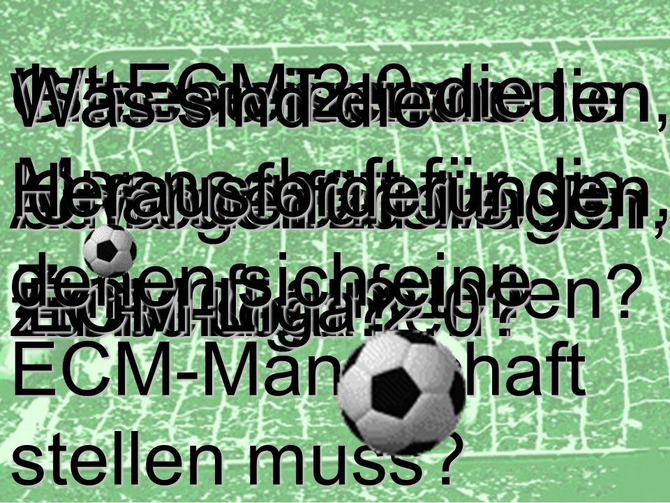 30 d.forum Trainerbriefing: die ECM Liga Dr. Ulrich Kampffmeyer PROJECT CONSULT Unternehmensberatung Dr. Ulrich Kampffmeyer GmbH Breitenfelder Straße