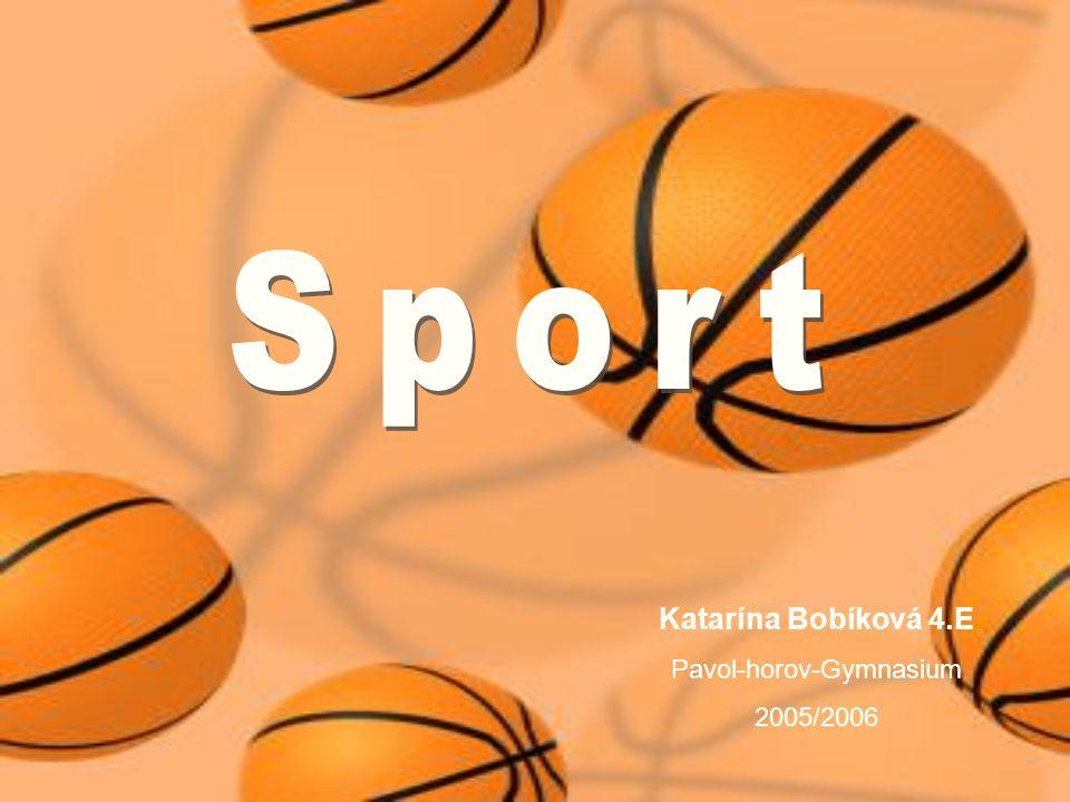 Katarína Bobíková 4.E Pavol-horov-Gymnasium 2005/2006