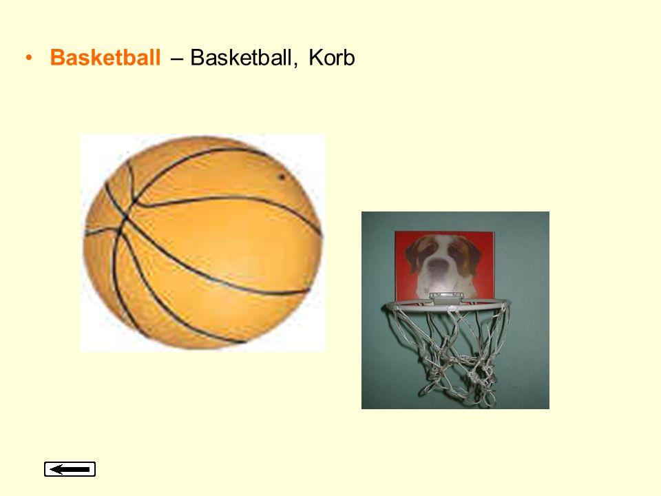 Basketball – Basketball, Korb