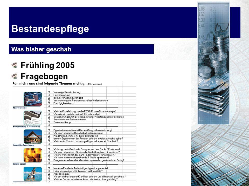 Bestandespflege Was bringst? Beispiel 2006 Kläsi EH 7200Bestand 72% MathysEH 6400Bestand 60%