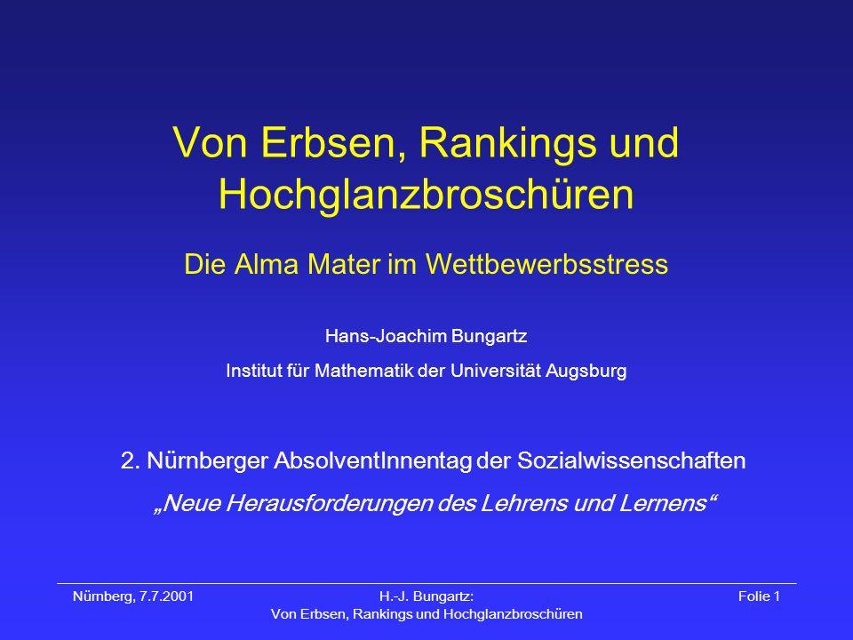 Hans-Joachim Bungartz Institut für Mathematik der Universität Augsburg 2.
