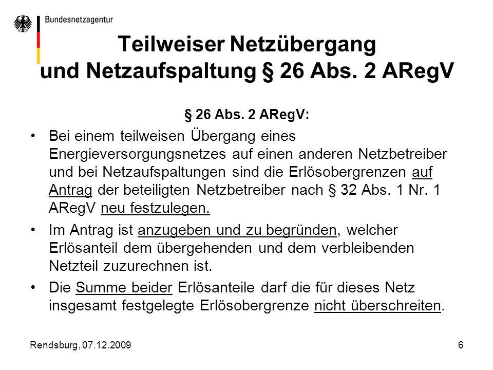 Rendsburg, 07.12.20097 Antragserfordernisse Keine widerstreitenden Anträge, sondern ein gemeinsamer oder zwei inhaltlich kongruente Anträge.