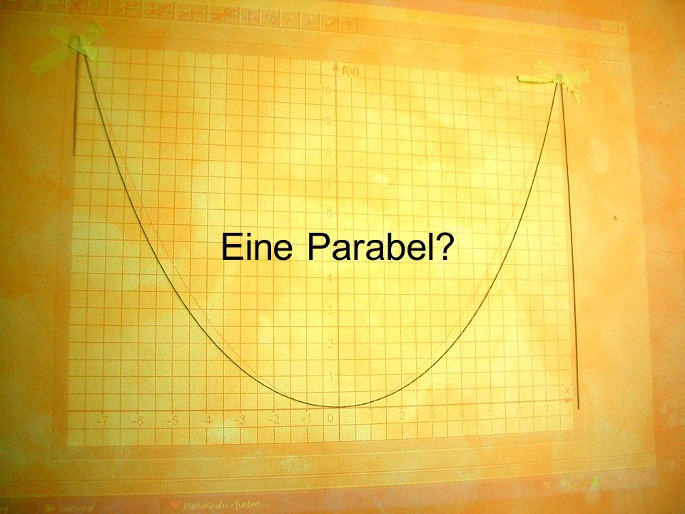 Eine Parabel?