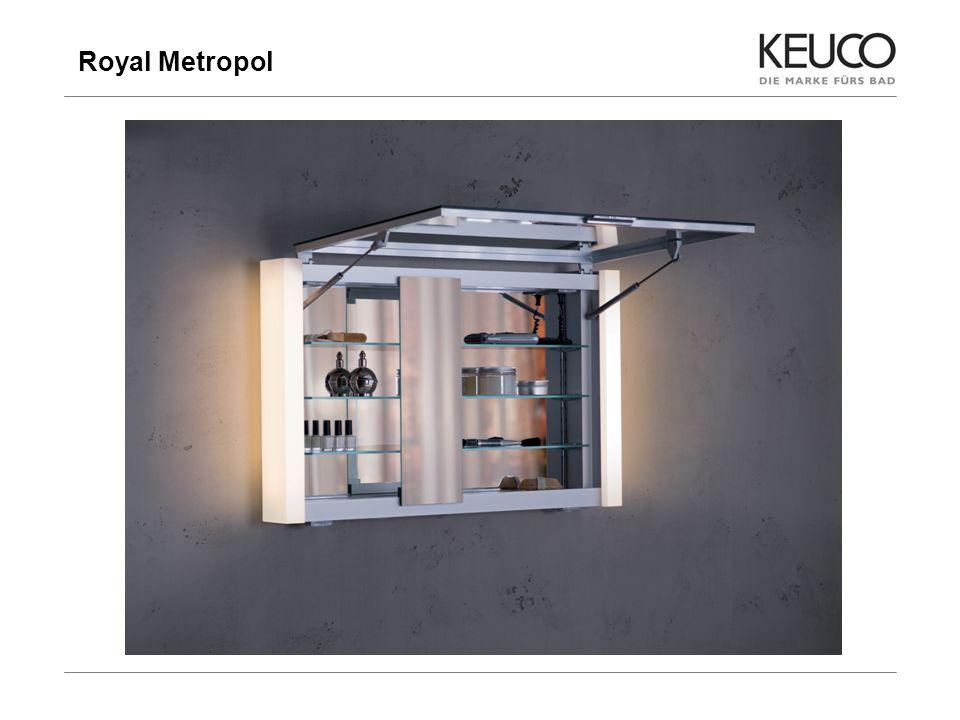 Royal Metropol 14 Preisstellung im Vergleich zum Wettbewerb - Breite 800 mm Duravit PuraVida 720 mm 2117,00 Emco ASIS 800 mm 1453,00