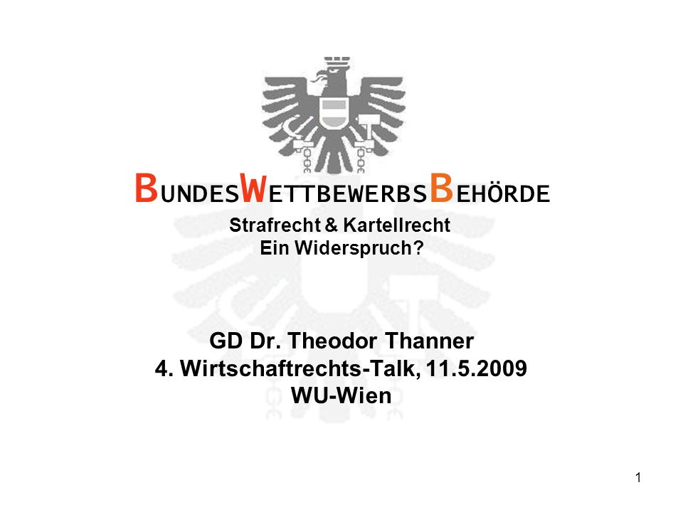 1 GD Dr. Theodor Thanner 4.