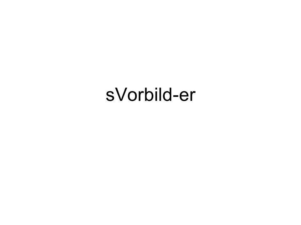 sVorbild-er