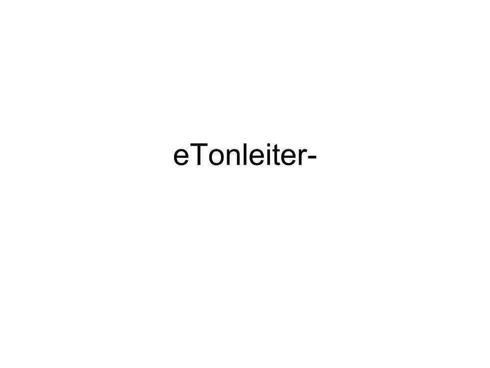 eTonleiter-