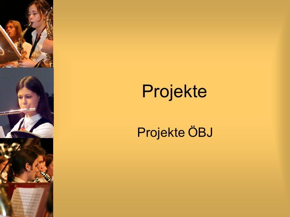Projekte Projekte ÖBJ