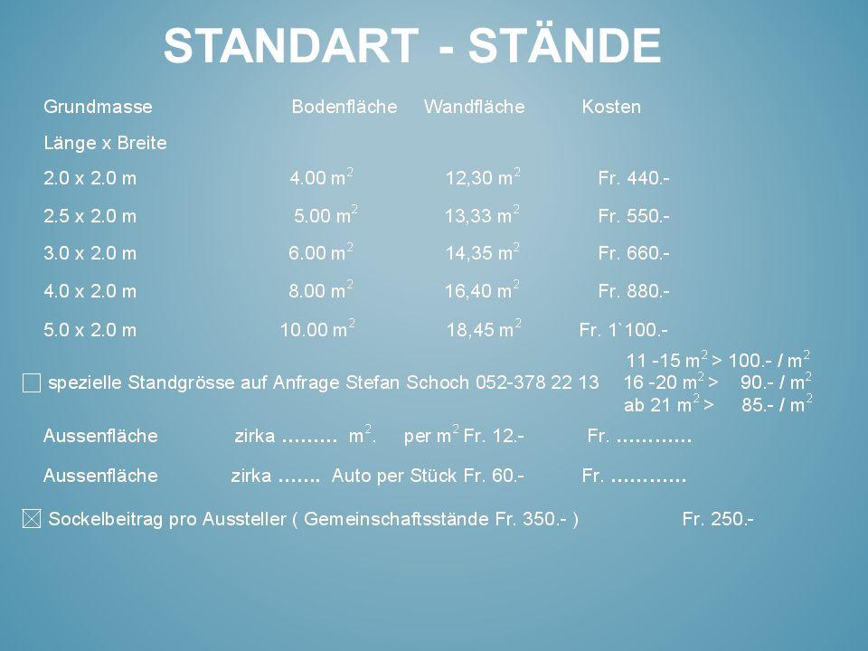STANDART - STÄNDE