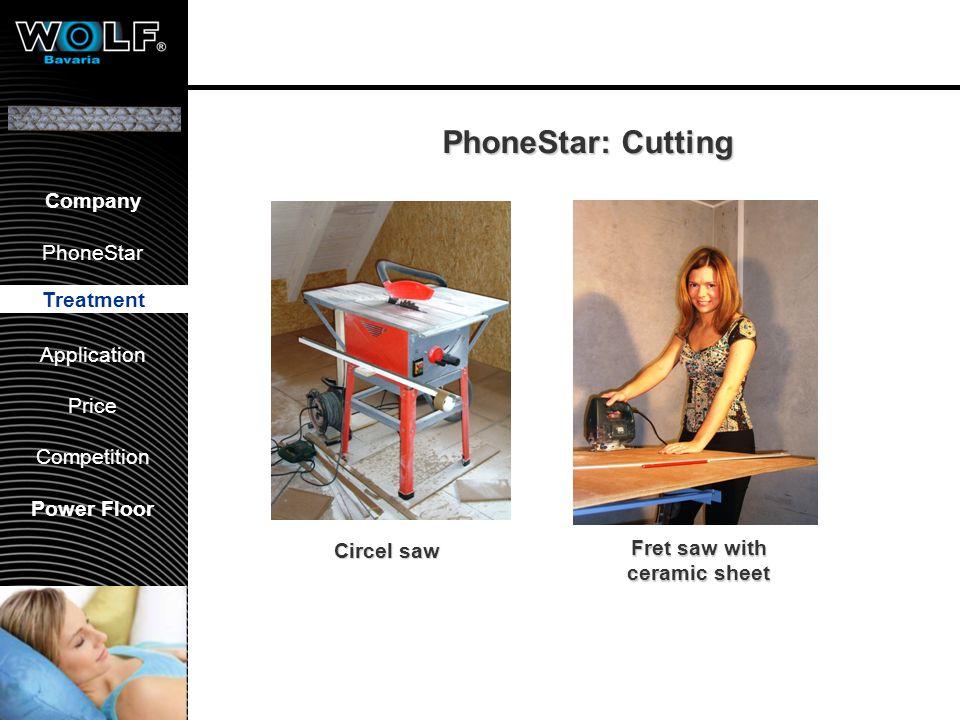 Vorstellung WBG PhoneStar Bearbeitung Anwendung Preis Wettbewerb Company PhoneStar Treatment Application Price Competition Power Floor PhoneStar: Cutt