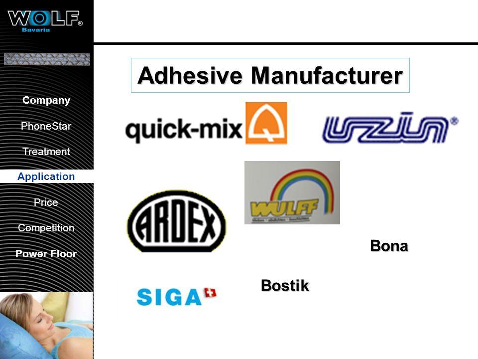 Vorstellung WBG PhoneStar Bearbeitung Anwendung Preis Wettbewerb Company PhoneStar Treatment Application Price Competition Power Floor Adhesive Manufa