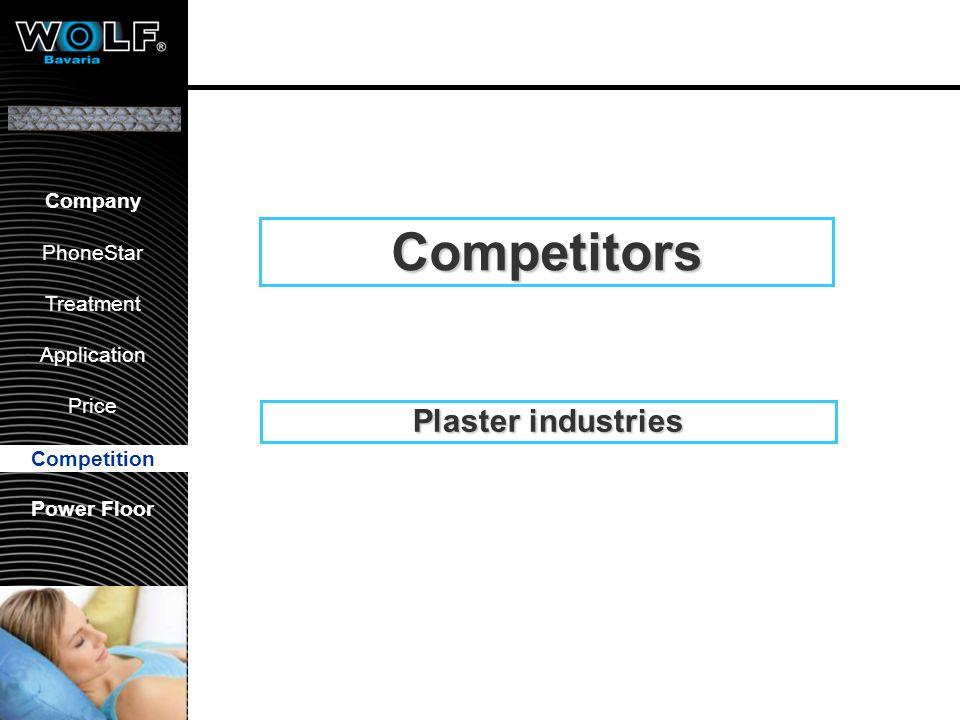 Vorstellung WBG PhoneStar Bearbeitung Anwendung Preis Wettbewerb Company PhoneStar Treatment Application Price Competition Power Floor Competition Pla