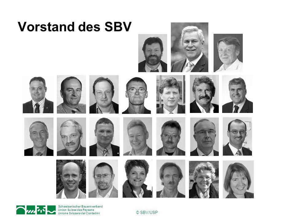 Schweizerischer Bauernverband Union Suisse des Paysans Unione Svizzera dei Contadini © SBV/USP Der SBV will den Bauernfamilien helfen, die Herausforderungen zu bewältigen