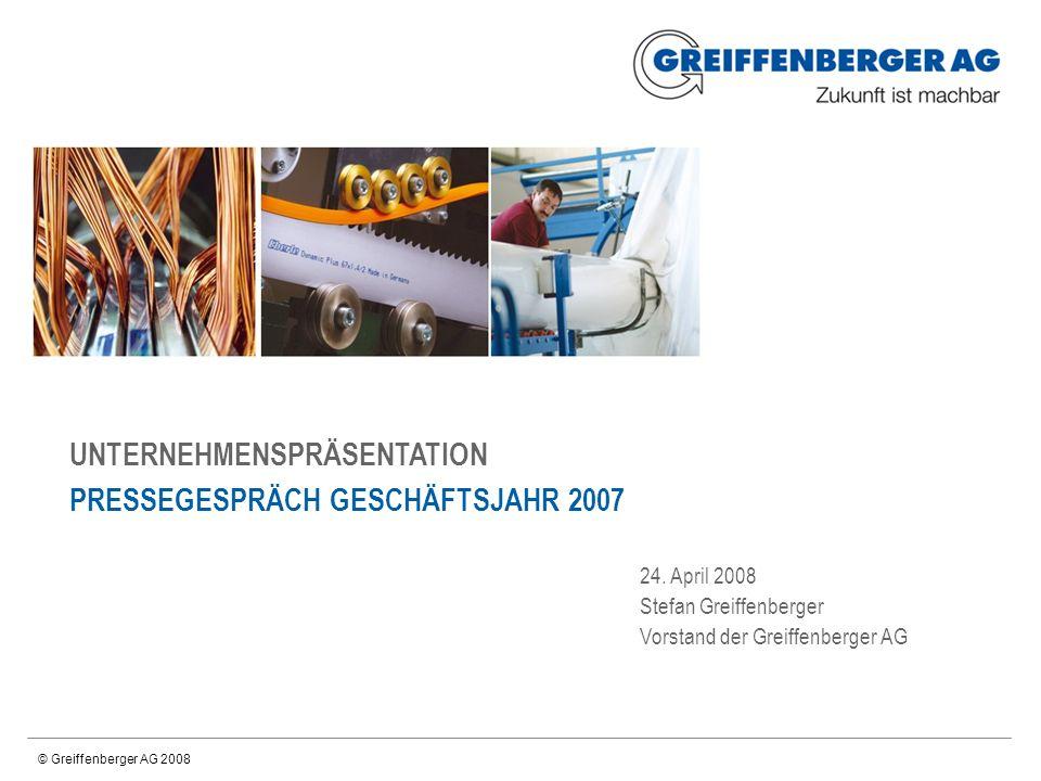 24.04.2008 | Greiffenberger-Präsentaition A1 | Aktionärsstruktur