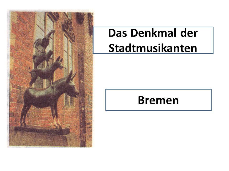 Das Denkmal der Stadtmusikanten Bremen