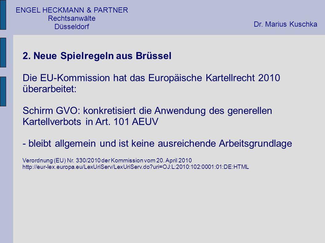ENGEL HECKMANN & PARTNER Rechtsanwälte Düsseldorf 5.