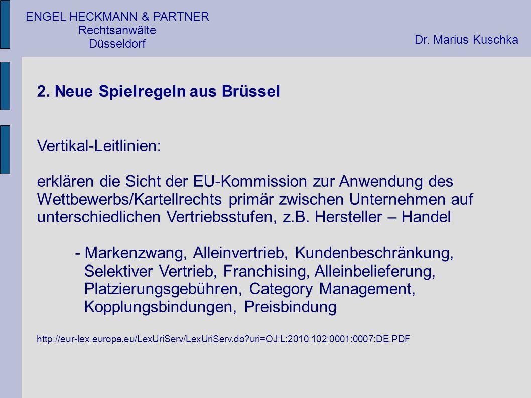 ENGEL HECKMANN & PARTNER Rechtsanwälte Düsseldorf 3.