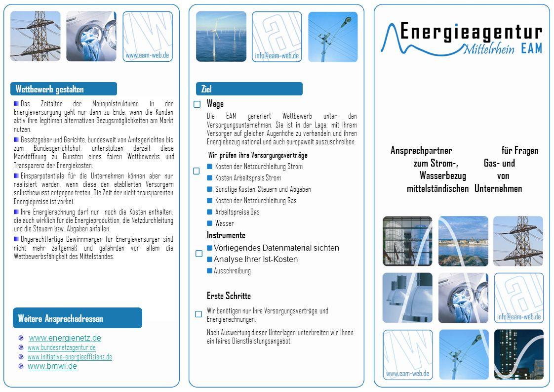 Über unsUnsere Leistungen Kostengünstiger Strom-, Gas- und Wasserbezug für Sie, d.h.