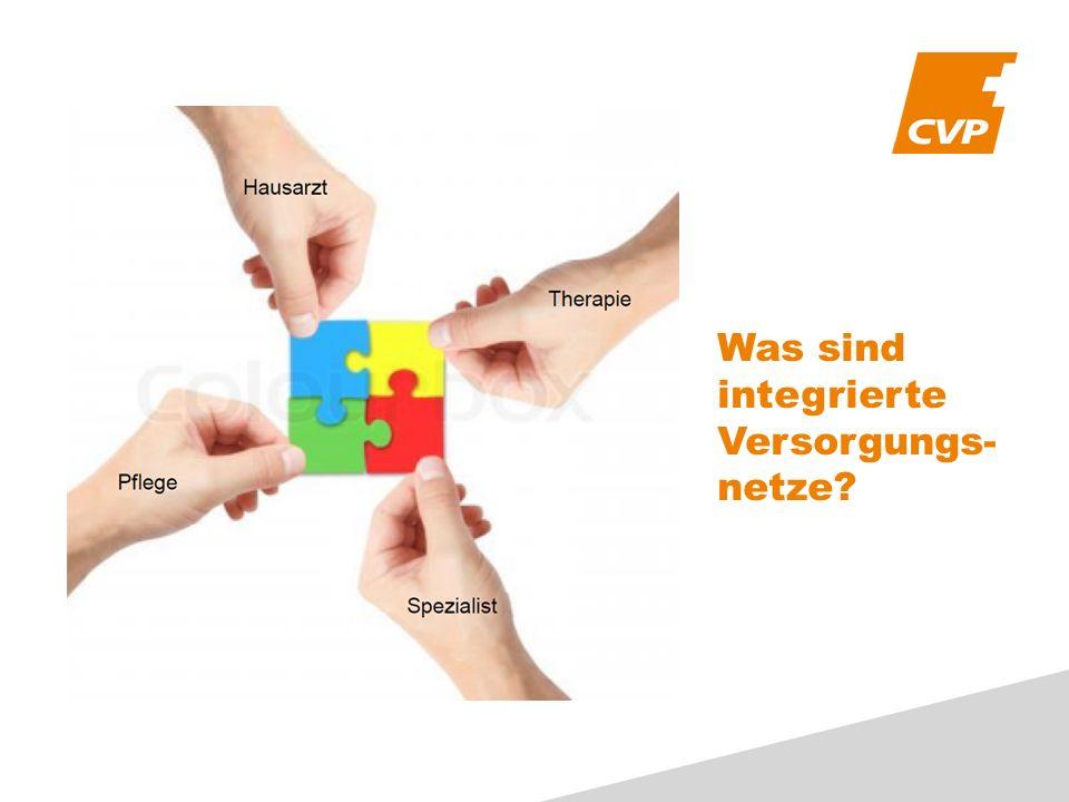 Was sind integrierte Versorgungs- netze?