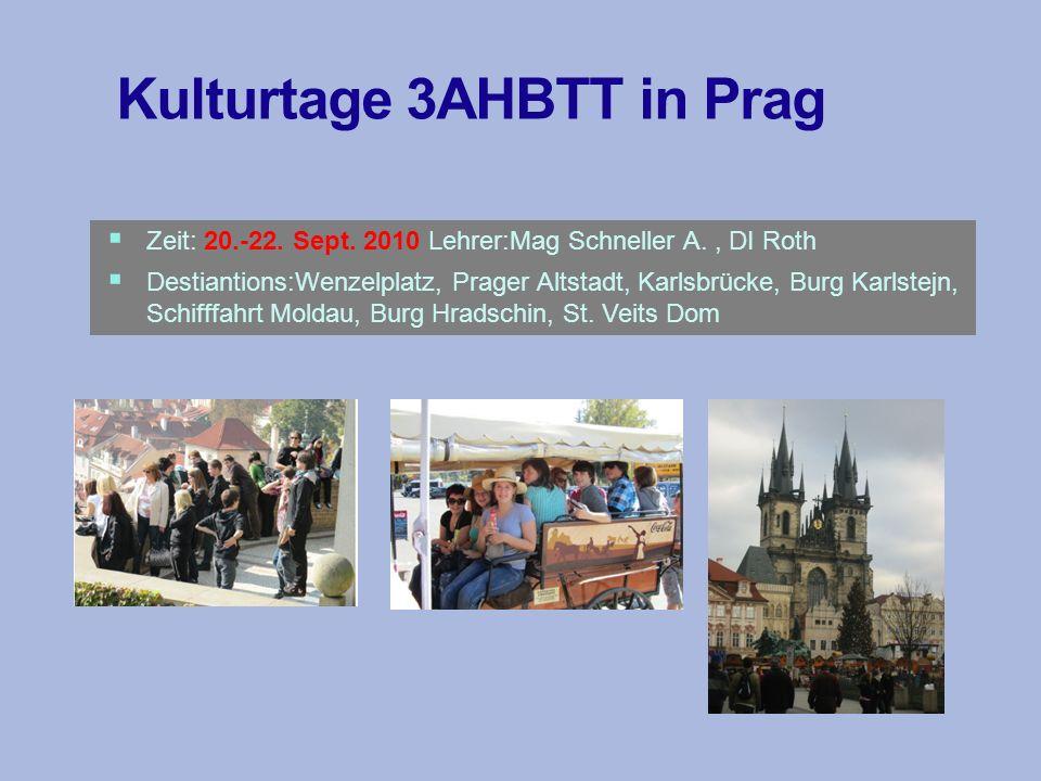 Exkursion 4BH 1.10.2010 Begleitlehrer: DI Roth, DI Mathä Programm: Besichtigungen v.