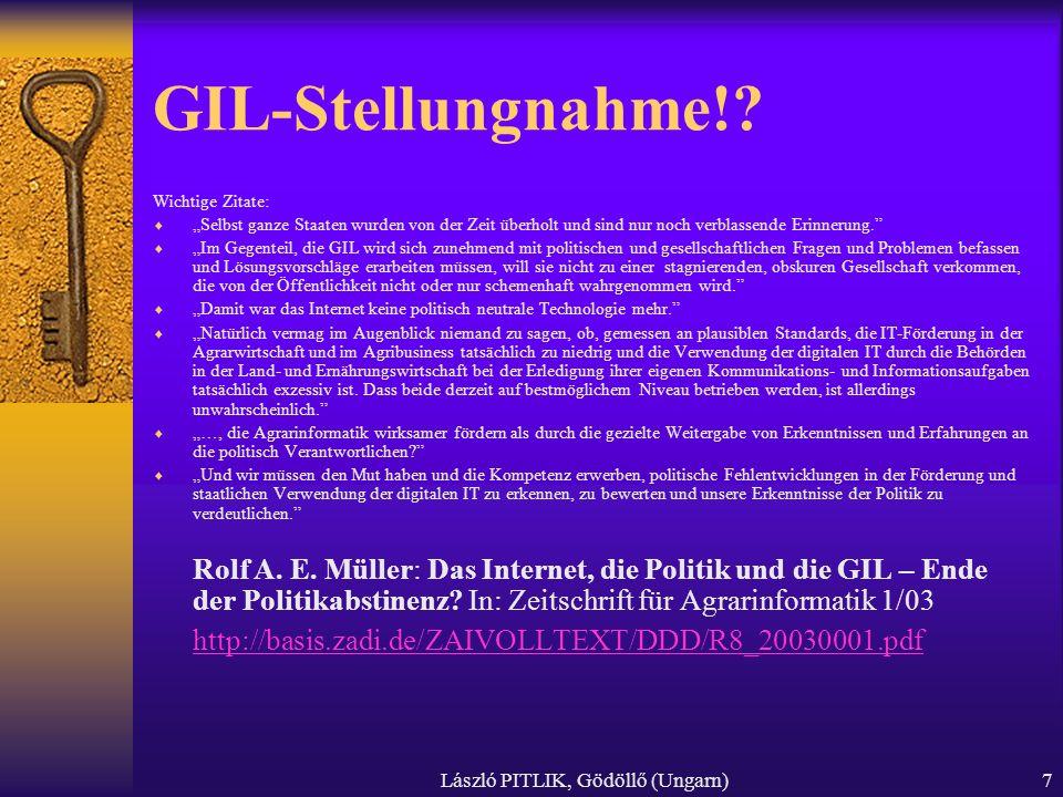 László PITLIK, Gödöllő (Ungarn)7 GIL-Stellungnahme!.