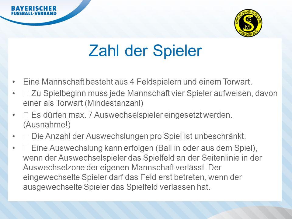 Präsentation beenden Signale, des Schiedsrichters: Freistöße Regel 13 - Freistöße 5.