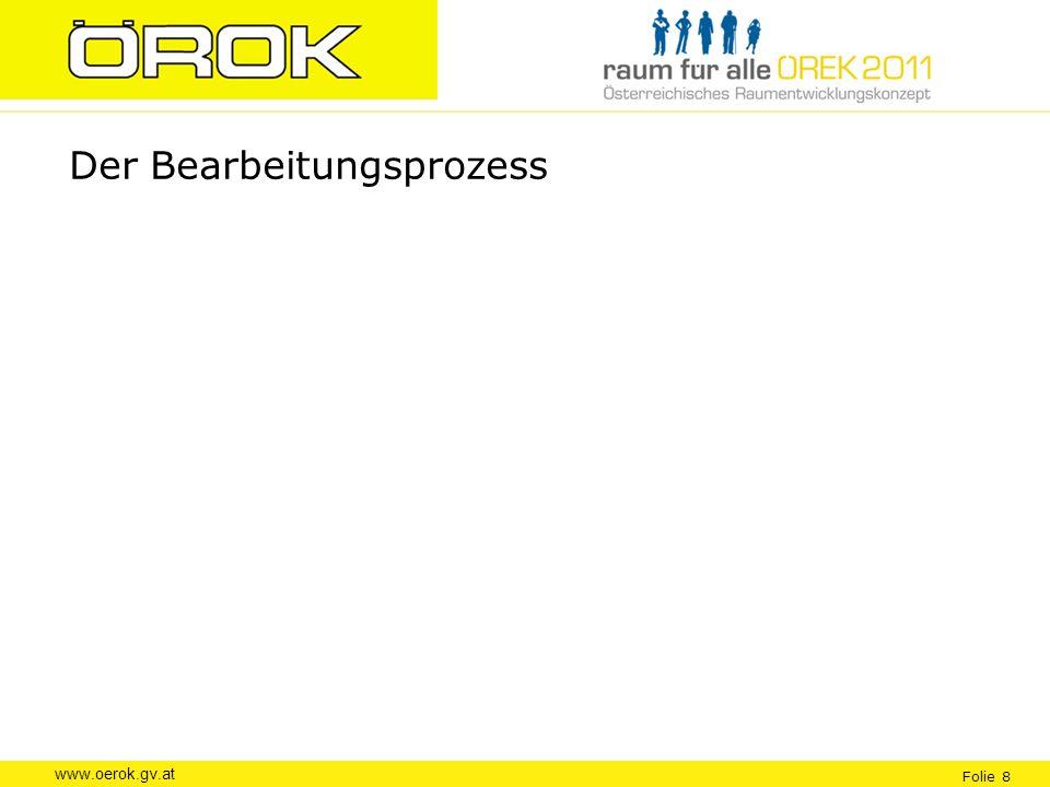 www.oerok.gv.at Folie 8 Der Bearbeitungsprozess