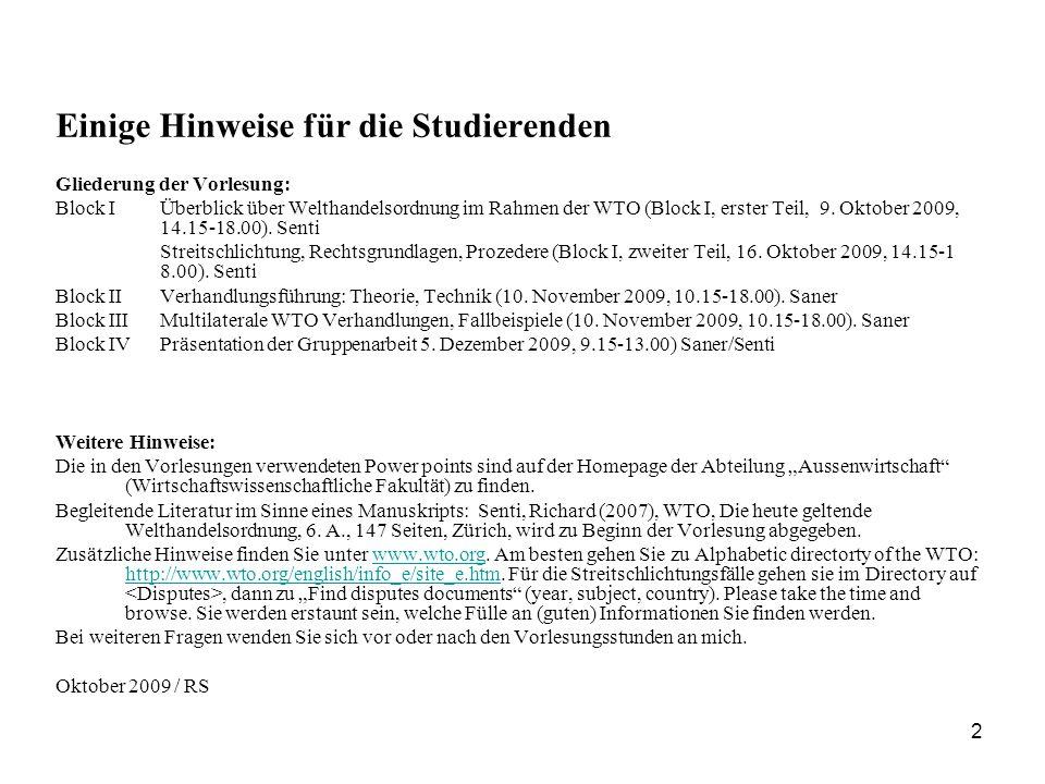 13 1.Ausnahme von mfn: Integrationsvereinbarungen (Art.